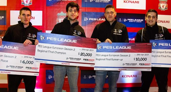 Season 2 European Regional Final Winners for the PES LEAGUE ROAD TO CARDIFF Competition Confirmed!
