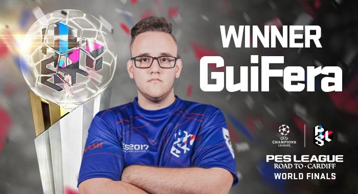 Guifera wins PES League Road to Cardiff 2017 Finals